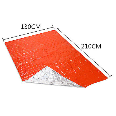 Outdoor Emergency Solar Blanket Survival Safety Insulating Mylar Thermal Heat S1