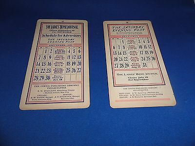 1902 Saturday Evening Post The Ladies Home Journal Curtis Publishing Schedules