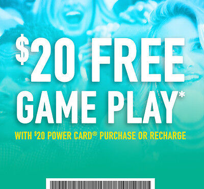📢📢📢 DAVE & BUSTERS -  $20 GAME PLAY* + Play 3 games**
