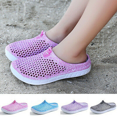 Summer Women Ladies Beach Flat Slippers Sandals Antiskid Breathable Shoes New