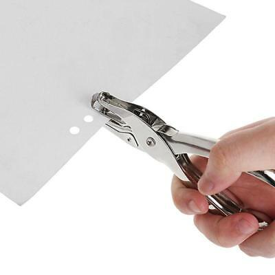 Silver 6mm Single Round Hole Paper Punch Puncher School Office Stationary NEW JJ