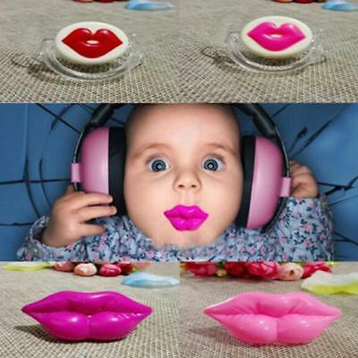Funny Dummy Dummies Pacifier Novelty Mouth Teeth Newborn Baby Child Soother JJ
