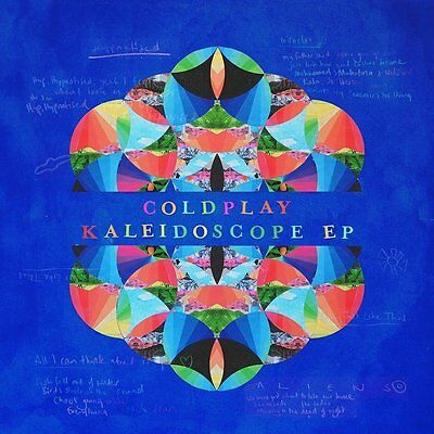 Coldplay Kaleidoscope Ep Cd - Pre Release 4Th August 2017