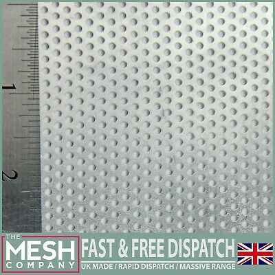 Aluminium (2mm Hole x 3.5mm Pitch x 1mm Thick) Perforated Mesh Sheet Plate