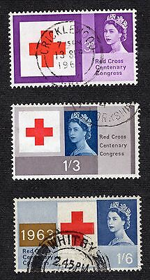 1963 Red Cross Cent SG642-4 GOOD Used R36150