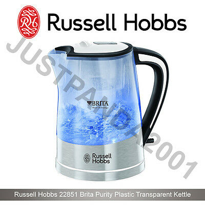 new russell hobbs 22851 brita purity plastic transparent. Black Bedroom Furniture Sets. Home Design Ideas