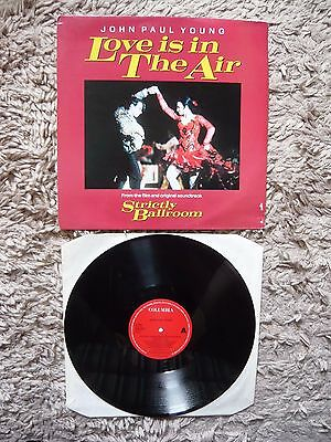 """John Paul Young Love Is In The Air Strictly Ballroom 3 Mixes 12"""" Vinyl Single"""