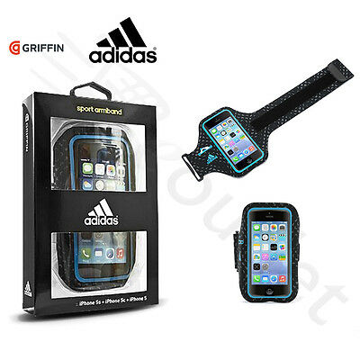 Griffin Adidas Ultra-light Running Sports Armband iPhone 5/5s/SE - Black/Blue