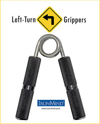 IronMind Left-Turn No. 2 Grippers (195 lbs)