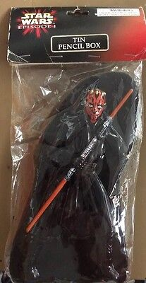 Star Wars Episode I Tin Pencil Box Darth Maul