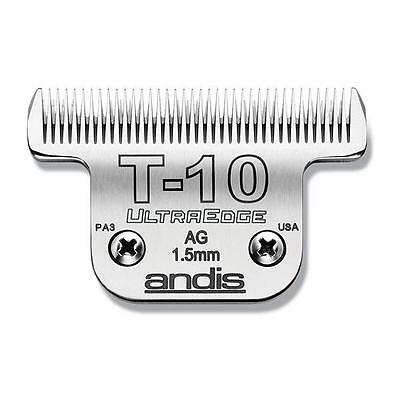 Weaver Andis Carbon-Infused Steel Ultraedge Dog Clipper Blade, T-10, 1/16-Inch