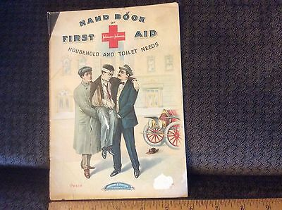 Antique Book Johnson & Johnson First Aid Hand Book 1911 Copy