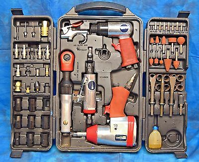 Mechanics Choice Air Tool 70 Pc Air Tool Set 1-4