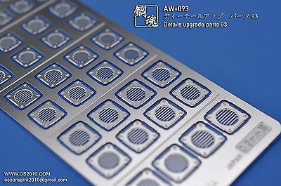 Aw-093 Gundam & Weapon Model Detail Thruster Builders Parts Photo Etch Add On