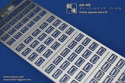AW-113 Gundam /& Weapon Model Detail Thruster Builders Parts Photo Etch Add on