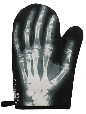 X-Ray Oven Glove Black 22.5x28.5cm