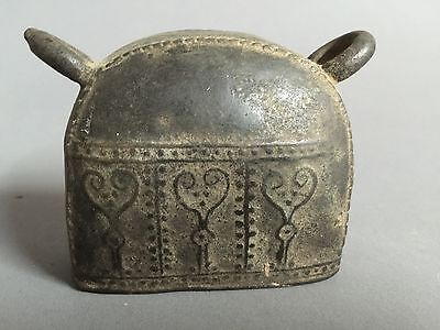 Burmese Bronze Buffalo bell. Circa 19th C.