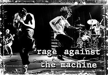 Rage Against The Machine Textile Flag - Stage (IMPORT)