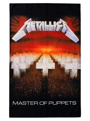 Metallica Master of Puppets Textile Flag