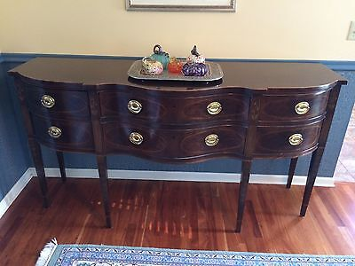 Drexel Heritage Heirloom Collection Sideboard Buffet Numbered Piece