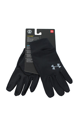 1282763-001 Men Liner Glove Under Armour Black  Steel