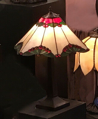 Nelly Tiffany Style Table Lamp Lead Light - Will Ship Australia Wide