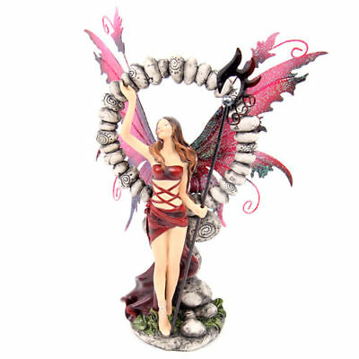 Legends of Avalon - Fairy with Stone Circle Figurine
