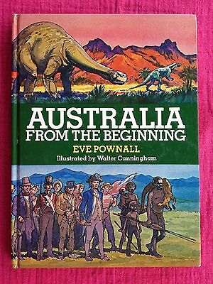 Australia From the Beginning, by Eve Pownall. Illustrated by Walter Cunningham.