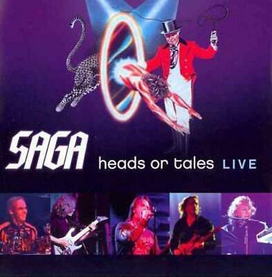 Saga - Heads Or Tales: Live Used - Very Good Cd