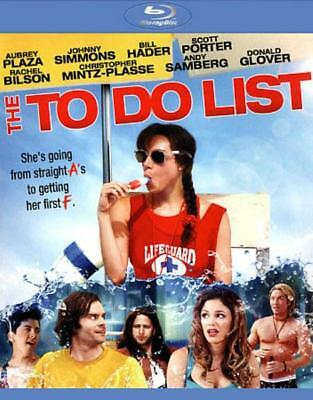 The To Do List Used - Very Good Blu-Ray
