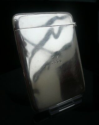Antique Silver Card Case, Birmingham 1885