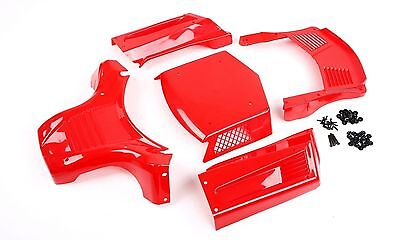 Car Body Shell Panels WITHOUT Roll Cage for 1/5 Losi 5ive T Plastic