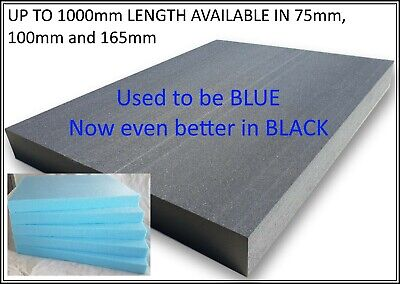 Craft Foam Sheets Blue Extruded Styrofoam Modelling Sculpting - Free Uk Postage!