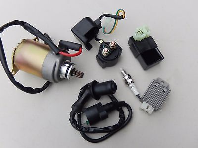Tomberlin Crossfire 150 Go Kart Electrical Rebuild Kit Cdi Starter Relay Coil