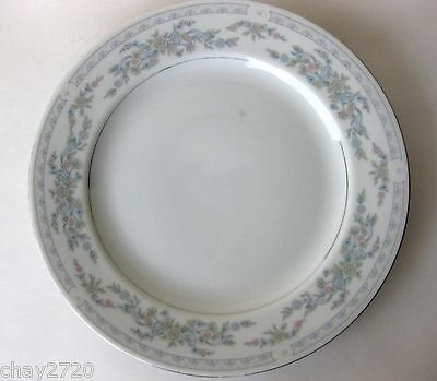 "Pre-Owned Excel Porcelain Dinner Plate ""Somerset"" 10 1/2 Inches"