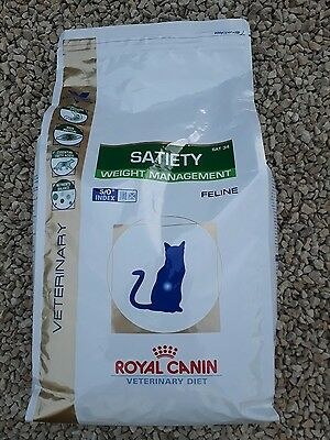 Croquettes Royal Canin Veterinary Diet Satiety Support pour chats Sac 3,5 kg