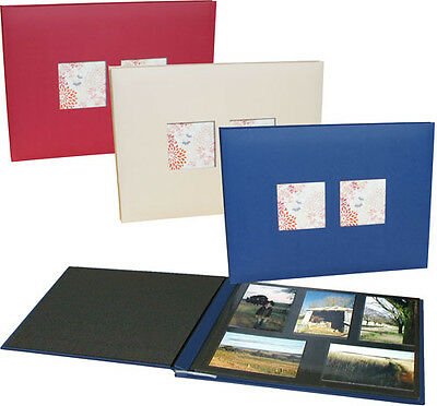 A Big Life NCL Jumbo Coloured Photo Album with windows