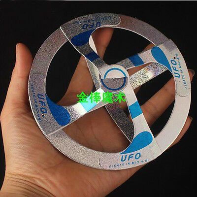 Amazing Mystery UFO Floating Flying Disk Saucer Magic Cool Trick toys Kid Gift