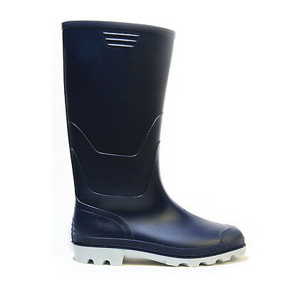 Stridy Womens Dark Navy Blue Gumboots  -  New with Tags