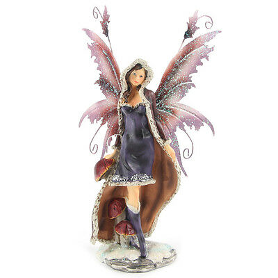 Coloured Snow Fairy FYP 66 - Legends of Avalon Figurine with Metal Wings