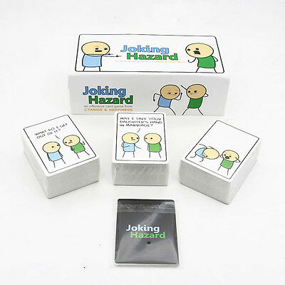 Joking Hazard Game Card Home Party Happiness Kickstarter Cyanide And Box Edition