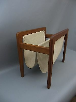60s Teak mid Century Danish Design ZEITUNGSSTÄNDER - newspaper rack