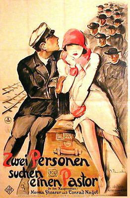 German expressionistic movie poster from 1926  FENNEKER