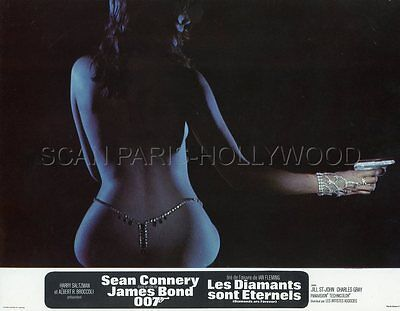 James Bond 007 Sean Connery Diamonds Are Forever  1971 12 Lobby Cards