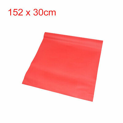 Glossy Red 152 x 30cm Self Adhesive Car Body Vinyl Film Wrap Sticker Decal