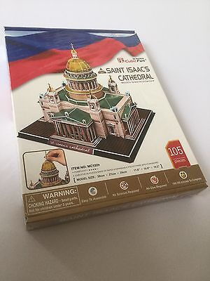 Saint Isaac's Cathedral 3D Jigsaw Puzzle New & Sealed St Petersburg Russia