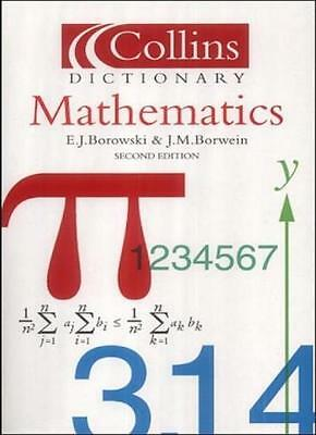 Collins Dictionary of - Mathematics,E. J. Borowski, J. M. Borwein