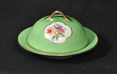 Vintage Ovington's New York Porcelain Pancake / Crepe Serving Dish