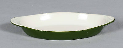 Hall Oval Bowl Au Gratin Avocado Green # 75 Made in U.S.A.