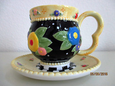 Mary Engelbreit Teacup & Saucer (Retired)